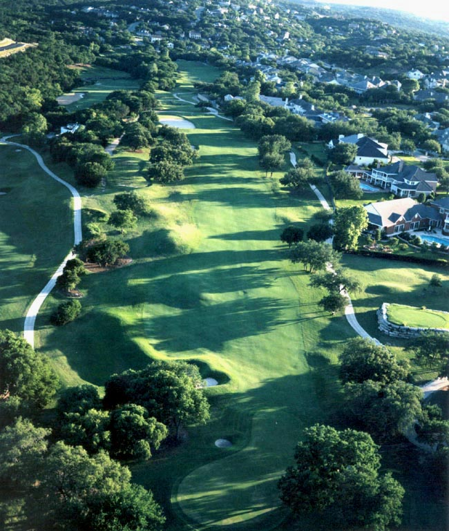 Austin Country Club View Course Hole
